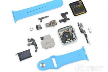 Apple Watch Teardown: Repairability Score of 5/10