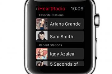 iHeartRadio Now on Apple Watch