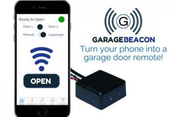 Garage Beacon 2.0: Garage Door Opener w/ Smartwatch Support