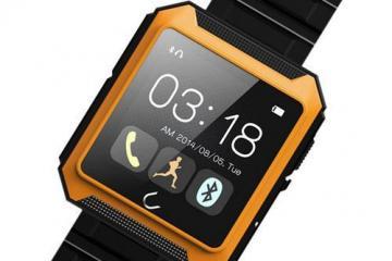 LeFun U8P Waterproof Wristwatch