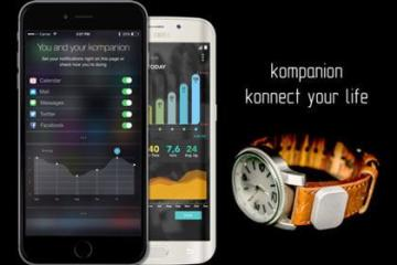 kompanion Serves As Your Smartwatch, Tracker