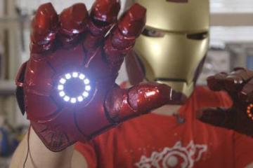 DIY Bionic Iron Man Glove via MyoWare