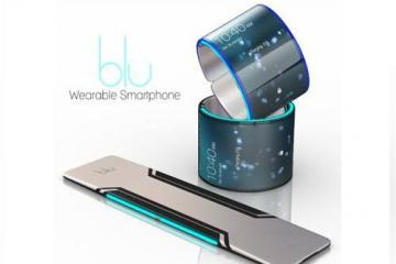 Blu Flexible Wearable Smartphone
