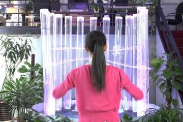 Interactive Fountain Using Kinect & Gestures