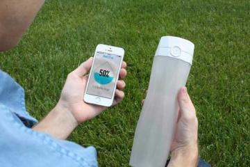 HidrateMe: Smart Water Bottle That Works with Wearables