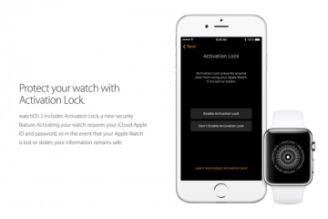 Securing Apple Watch w/ Activation Lock