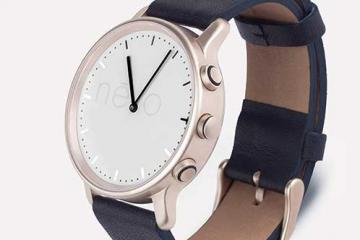 nevo: Classic Smart Watch w/ Vibrations, LEDs, Bluetooth