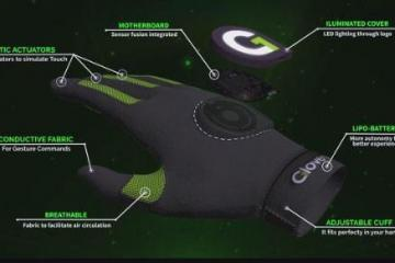 Gloveone: Feel & Touch Virtual Objects