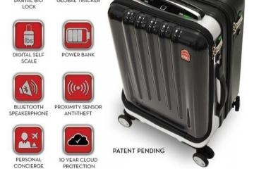 Space Case 1: Smart Suitcase + Smartwatch App