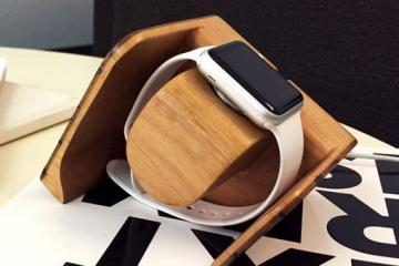 Tanaan Sculptural Apple Watch Charging Dock