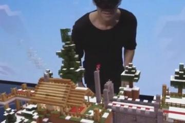 Minecraft Hololens Demo [Video]