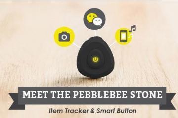 Pebblebee Stone: Item Tracker & Smart Button