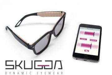 SKUGGA: App-Enabled Sunglasses w/ Tint Control