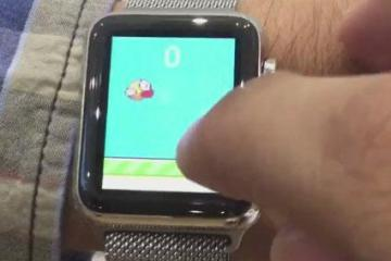 Apple Watch Running Flappy Bird Natively