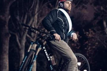 Vivid Bike Lock: Wearable Lock + Safety Light