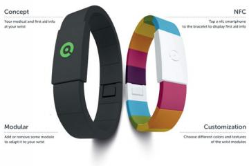 Amyko Wearable Holds Your Medical Information