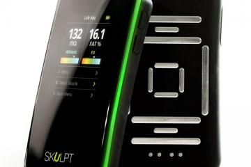 Skulpt Aim Measures Body Fat and Muscle Quality