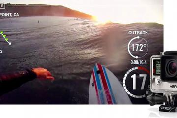 Trace Action Sports Tracker For Surfing