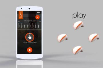 Blee Wearable Lets You Sync with Your Music