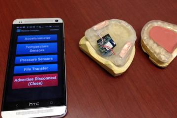Smart Mouth Guard Detects Teeth Grinding