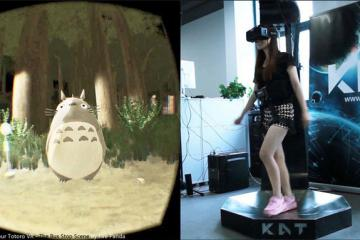 KAT WALK: Virtual Reality Treadmill