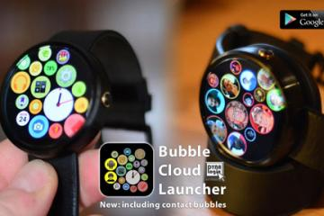 Bubble Cloud for Android Wear: Apple Watch Like Interface