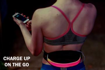 BSEEN: LED Waist Pack Keeps You Visible, Charges Your Phone