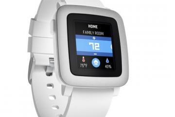 Pebble Time Smartwatch Now on Amazon