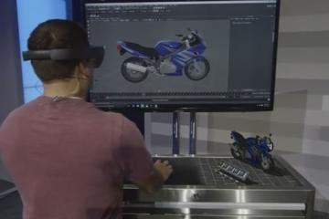 HoloLens + Maya by Autodesk for 3D Design