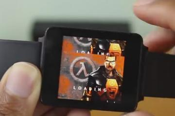 Playing Half Life on Android Wear