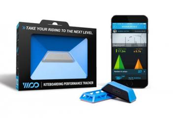 WOO: Waterproof Kiteboarding Performance Tracker