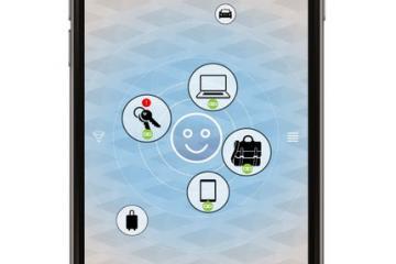 Pairable KEY: Item Tracker + Remote + Sensor