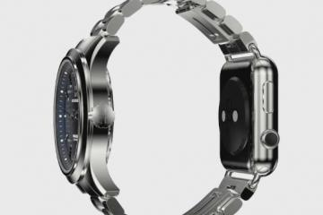 Pinnacle: Watch That Lets You Attach an Apple Watch
