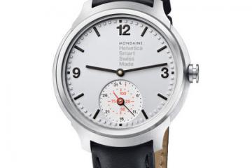 Mondaine Helvetica 1 Smart Watch Available for Pre-order