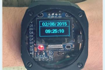 DIY: Arduino Pedometer Watch