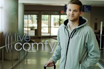 Live Comfy: Smart Jacket w/ Pillow + Phone Charger