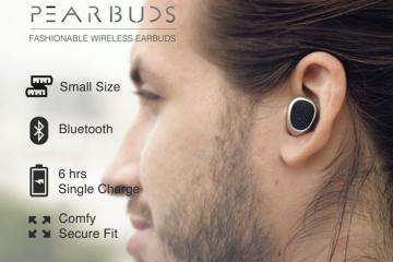 Pearbuds: World's Smallest Stereo Cordless Earbuds?