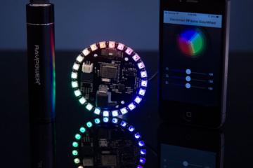 Pulsar: Smart Wearable LED Pixels
