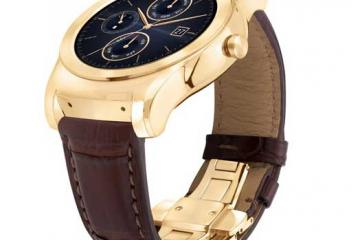 LG Watch Urbane Luxe Announced