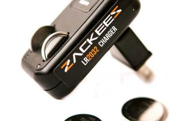 Zackees Rechargeable Coin Cell Charger for Wearables