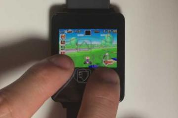 Game Boy Advance on Android Wear