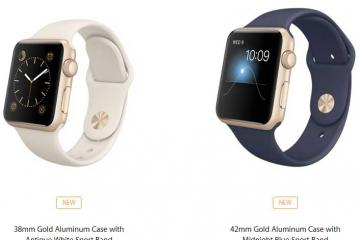 Apple Announces New Apple Watch Colors & Band