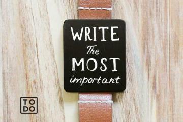 To-Do Wristwatch: Portable Chalkboard