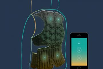 Aira Jacket: Smart Wearable Gives You a Massage