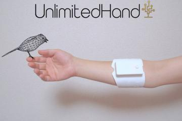 UnlimitedHand: Touch Virtual Objects