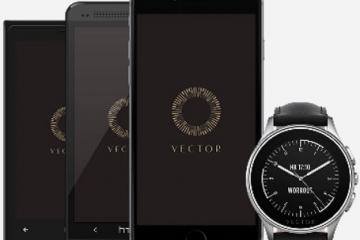 Vector Smartwatch with 30-Day Battery Life