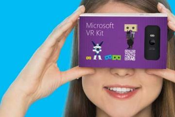 Microsoft VR Kit to Compete with Google Cardboard