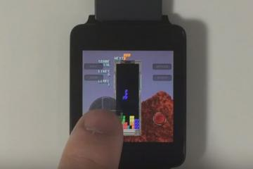 PAC-MAN and TETRIS on Android Wear