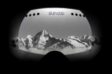 SunGod Revolt Goggles w/ Replaceable Parts