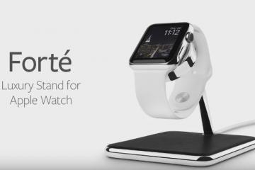 Twelve South Forte: Luxury Stand for Apple Watch